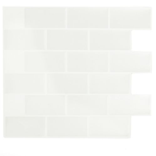 Peel & Impress Subway Glass Vinyl Wall Tile Product image