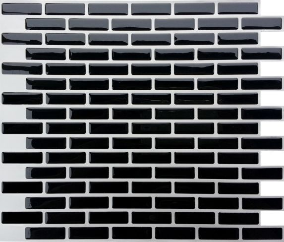 Peel & Impress Chic Oblong Vinyl Wall Tile
