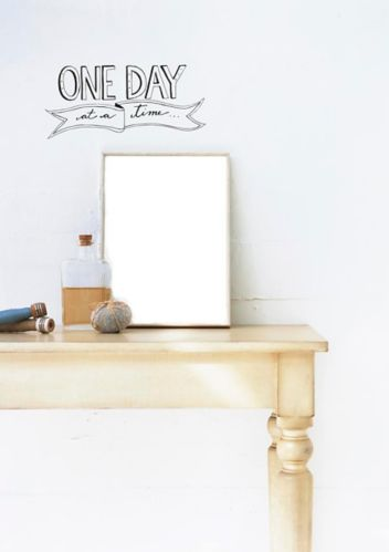 CANVAS Wall Decal, One Day Product image