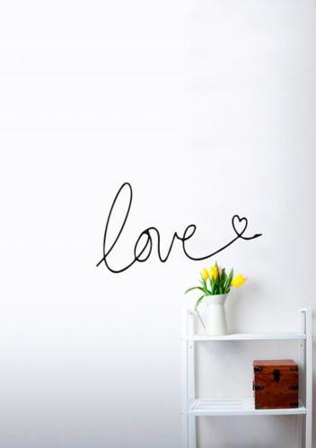 Décalcomanie murale CANVAS Love Image de l'article