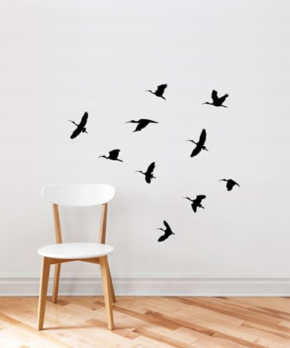 CANVAS Wall Decal, Birds Flight