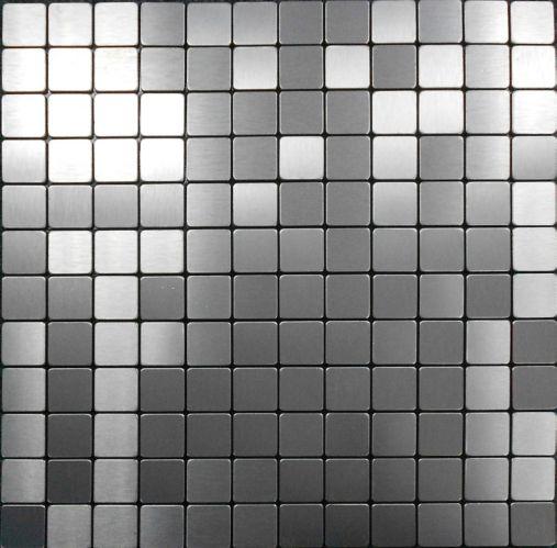 Carreaux muraux mosaïque acier Stilest, 1 po Image de l'article
