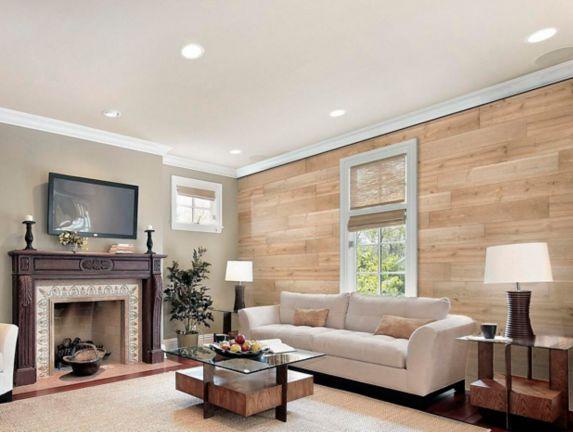 Wall Styles Peel & Stick Decorative Wood Wall Panels, Cape Cod White Product image