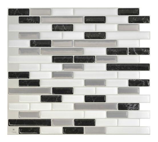 Carreaux à peler et coller Smart Tiles, Muretto Alaska Image de l'article
