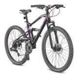 "CCM Apex Women's Dual Suspension Mountain Bike, 26-in | CCM Cycling Products | The CCM Apex 26"" Dual Suspension Mountain Bike is the best 24-speed dual suspension bike in the CCM line-up. Pair that with a lightweight aluminum frame and all"