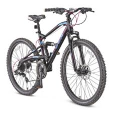 CCM Apex Women's Dual Suspension Mountain Bike, 26-in