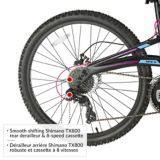CCM Apex Women's Dual Suspension Mountain Bike, 26-in | CCM Cycling Productsnull
