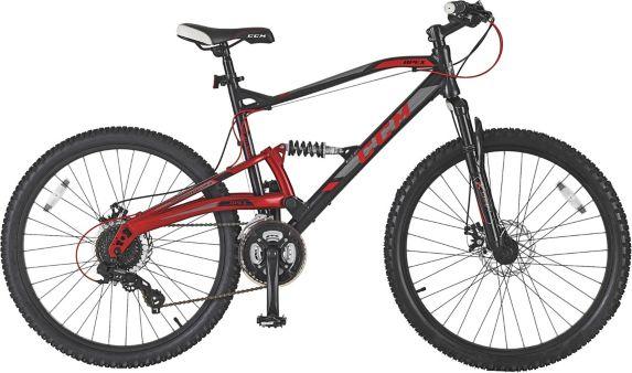 Vélo de montagne CCM Apex, double suspension, hommes, 26 po Image de l'article