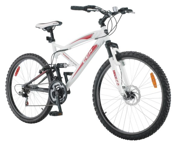 CCM Alpine Full Suspension Mountain Bike, 26-in Product image