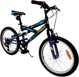 Supercycle Momentum Youth Dual Suspension Bike, Black, 20-in | Supercycle | Canadian Tire
