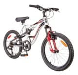 Supercycle Jumpstart Full Suspension Mountain Bike, 20-in | Supercyclenull