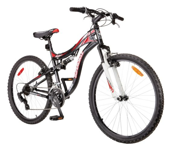 Supercycle Jumpstart Full Suspension Mountain Bike, 26-in Product image