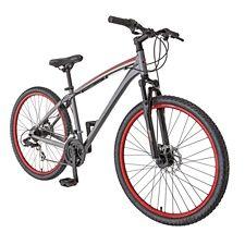 Nouveau 27.5 Schwinn Aluminium Comp Homme Vélo De Montagne Argent 21 vitesses Shimano