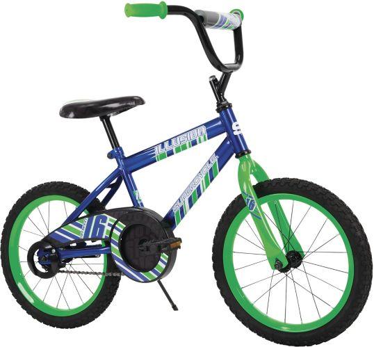 Vélo Supercycle Illusion pour enfants, bleu, 16 po Image de l'article