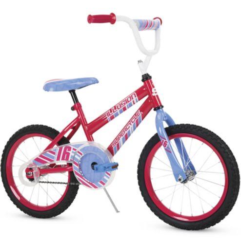 Vélo Supercycle Illusion pour enfants, bleu / rose, 16 po Image de l'article