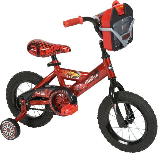 Huffy Cars Kids' Bike, 12-in