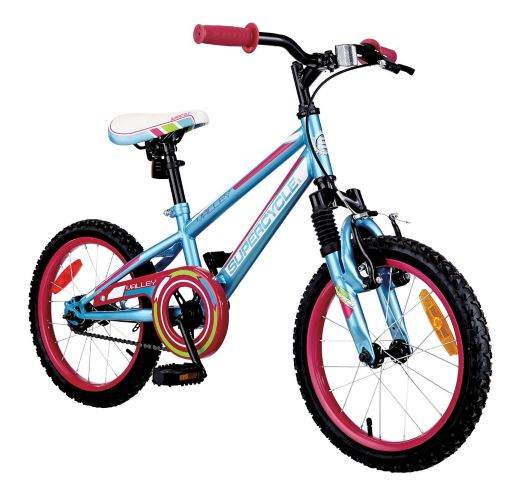 Supercycle Valley Kids' Bike, Light Blue, 16-in