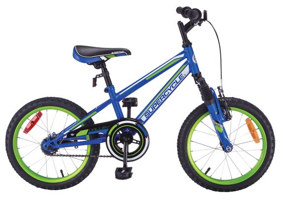 Supercycle Valley Kids' Bike, Blue, 16-in Product image