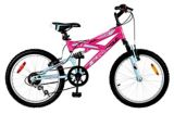 Supercycle Momentum Youth Dual Suspension Bike, Pink, 20-in | Supercycle | Canadian Tire