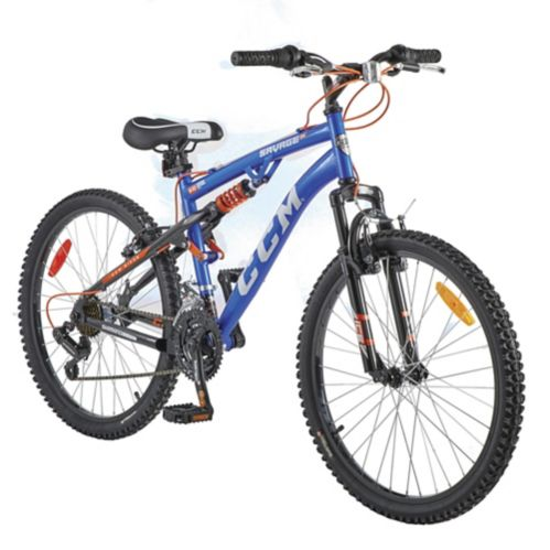 CCM Savage Youth Dual Suspension Mountain Bike, 24-in Product image