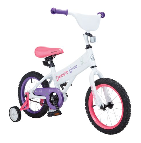 Supercycle Doodle Kids' Bike, Pink, 16-in Product image