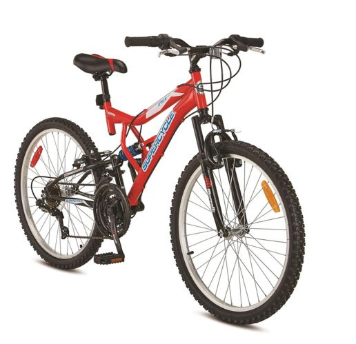 Supercycle Vice Youth Dual Suspension Mountain Bike, 24-in Product image