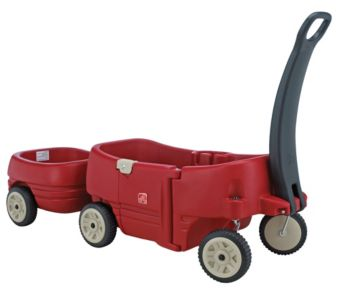Step 2 Wagon For Two Plus And Tag Along Trailer Plus