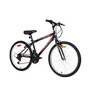 d33063a71cc Supercycle 1800 Youth Hardtail Mountain Bike, Black, 24-in