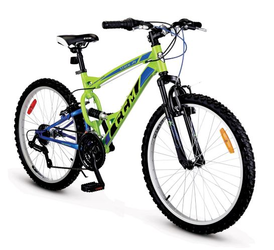 CCM Static Youth Dual Suspension Mountain Bike, 24-in Product image