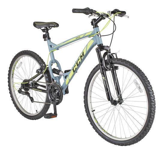 CCM Static Dual Suspension Mountain Bike, 19-in Frame, 26-in Product image