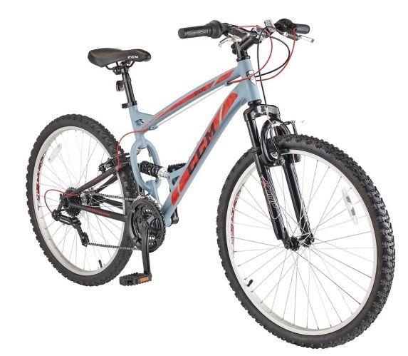 Vélo tout-terrain CCM Static, double suspension, cadre de 17 po, 26 po