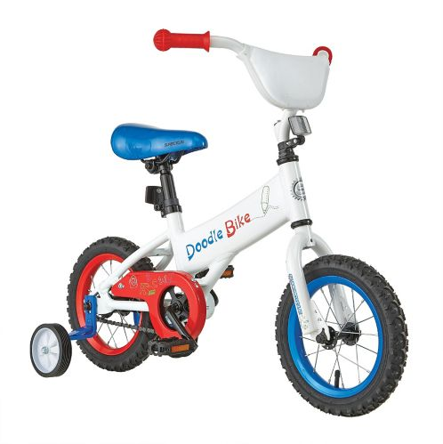 Supercycle Doodle Kids' Bike, 12-in Product image