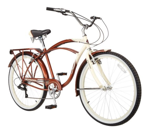 Schwinn Sanctuary 7 Comfort Bike, Men's, 26-in Product image