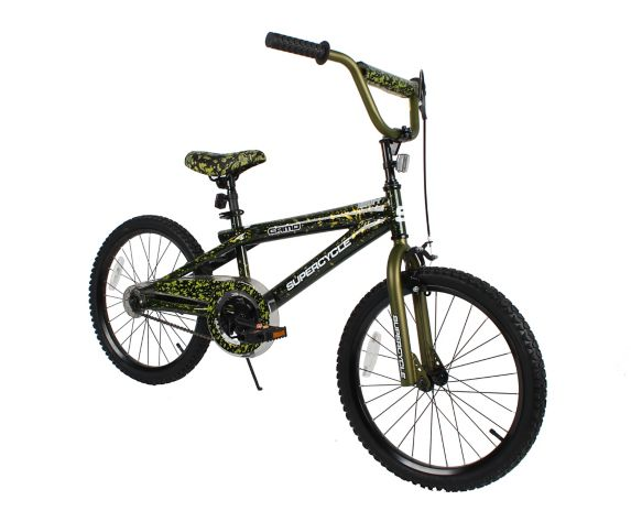 Supercycle Camo Youth Bike, 20-in