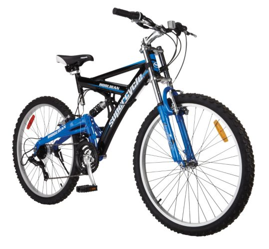 Supercycle Hooligan Full Suspension Mountain Bike, 24-in Product image