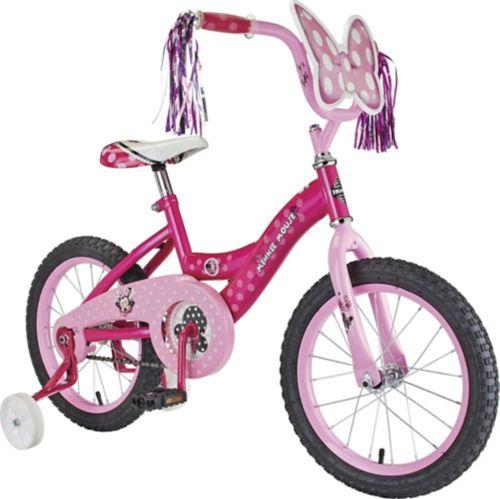 Disney Minnie Mouse Kids' Bike, 16-in