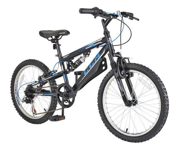 Vélo pour jeunes CCM SL 2.0 à double suspension, 20 po Image de l'article