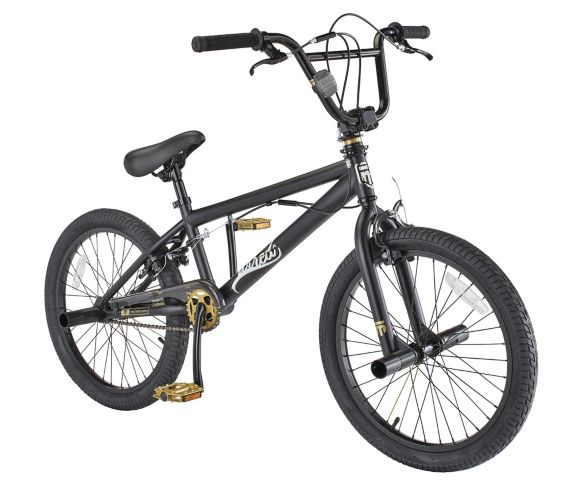 Mongoose Wired BMX Bike, 20-in