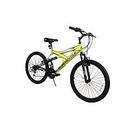 1aac79be86a Supercycle Nitrous Youth Dual Suspension Mountain Bike, Green, 24-in