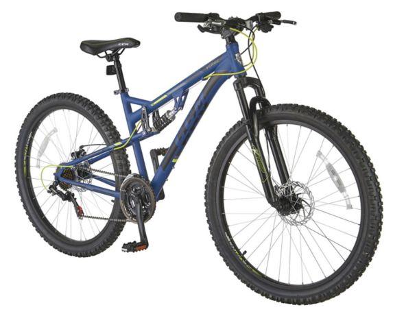 CCM Verge Dual Suspension Mountain Bike, 27.5-in