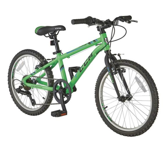 CCM Flow Youth Bike, Green, 20-in Product image