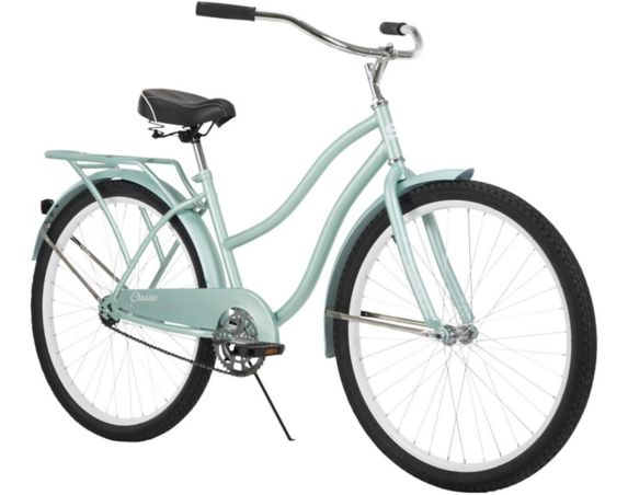 Supercycle Classic Cruiser Women's Retro Comfort Bike, 26-in