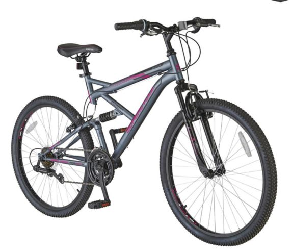 Supercycle Surge Dual Suspension Mountain Bike, 26-in Product image