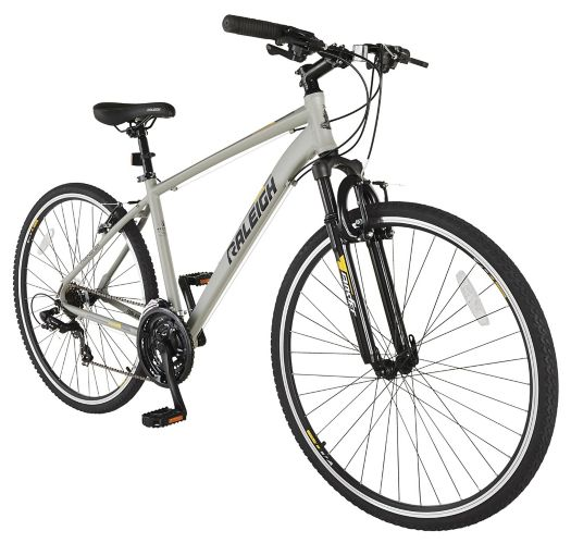 Raleigh Route Hybrid Bike, White Product image