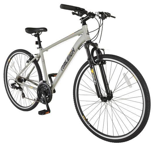 Raleigh Route Hybrid Bike, White