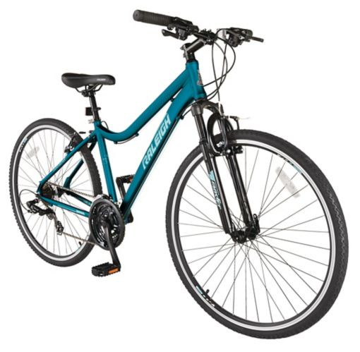 Raleigh Route Hybrid Bike, Blue