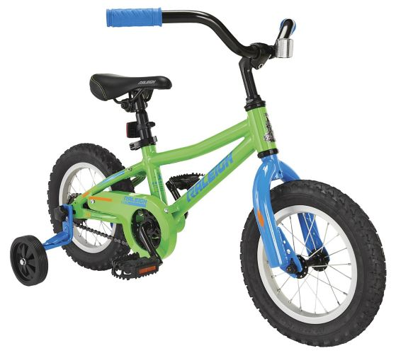 Raleigh Vibe Kids' Bike, Green, 12-in Product image