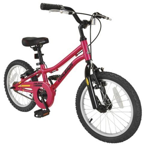 Raleigh Vibe Kids' Bike, Pink, 16-in