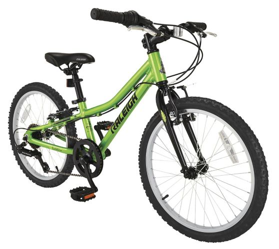 Raleigh Vibe Youth Bike, Green, 20-in