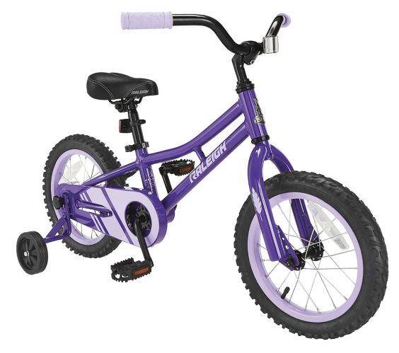 Raleigh Rawr Purple Kids' Bike, 14-in